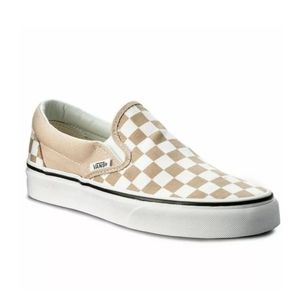 NWT Vans Checkerboard Classic Slip-On Shoes